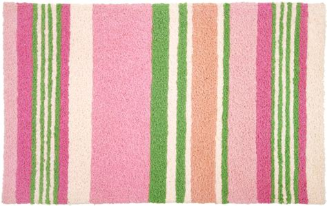 green and pink rugs soft pink and green stripes indoor outdoor rug interiordecorating