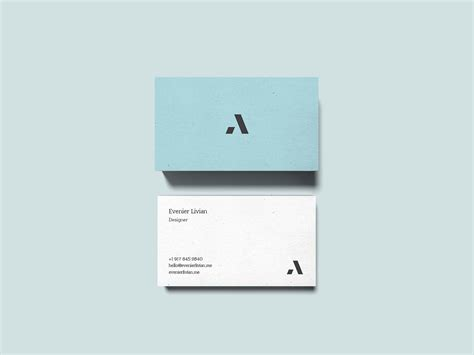 Business Cards Mockup Template Ai by Business Card Mockup Ai Choice Image Card Design And