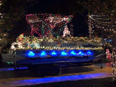 cape coral boat parade 2017 our boat decorated for the cape coral christmas boat