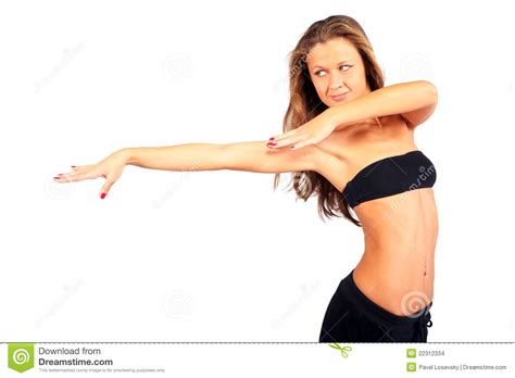 The Best Pose Takes Time by Beautiful Strikes Graceful Pose Stock Images Image