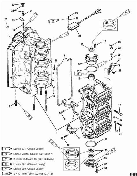 Cylinder Block & End Caps for Mercury / Mariner (135 / 150
