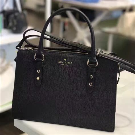47 kate spade handbags kate spade pebbled mulberry lise satchel from s