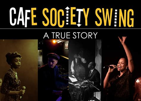 cafe swing copasetic productions presents cafe society swing a