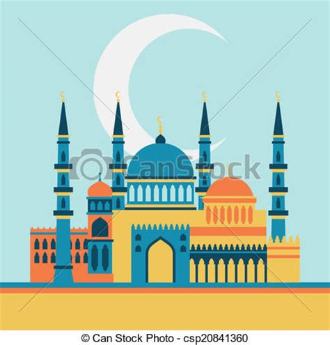 islamic mosque clipart   cliparts  images