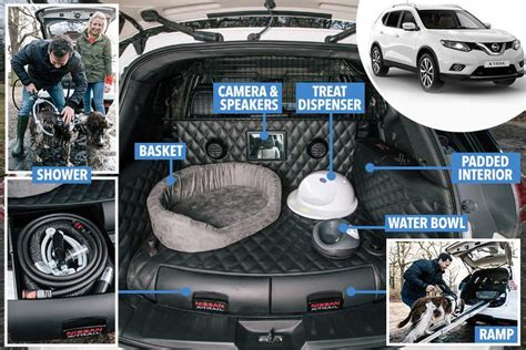 Nissan X Trail For Dogs by Nissan X Trail 4dogs Concept The Pawfect Car For Family