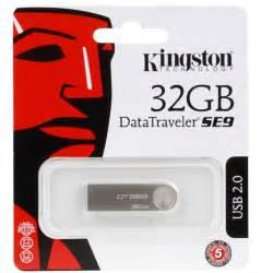 Usb 32gb memoria usb 2 0 kingston datatraveler se9 32gb