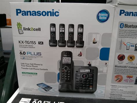 One Time Free Cell Phone Lookup Panasonic 5 Handset Cordless Phone Kx Tg155