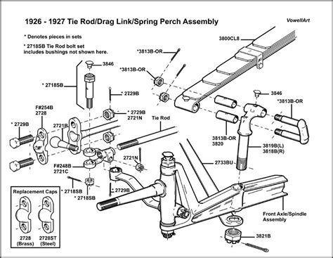 tie rod assembly diagram model t ford forum 1926 1927 tie rod drag link perch