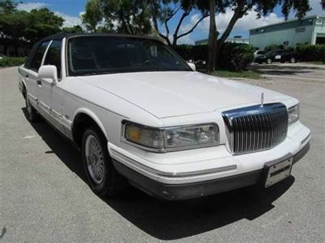 1997 lincoln town car sale 1997 lincoln town car for sale carsforsale