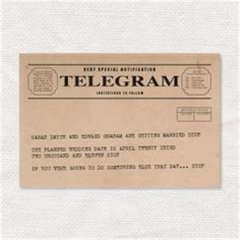 wedding telegram template free wedding printable telegram save the date template
