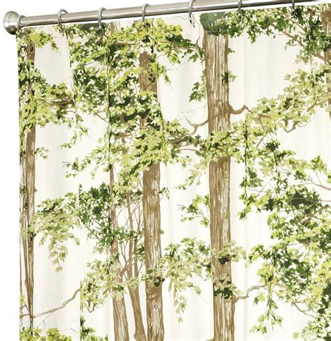 Curtains With Trees On Them Unique Shower Curtains In Beautiful Fabrics