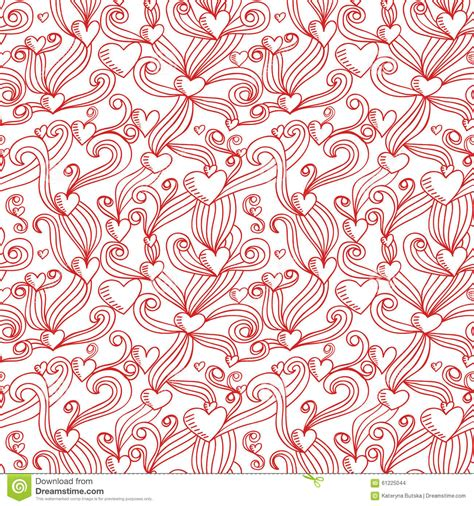 ornamental seamless pattern vector abstract background abstract decorative ornamental seamless pattern stock