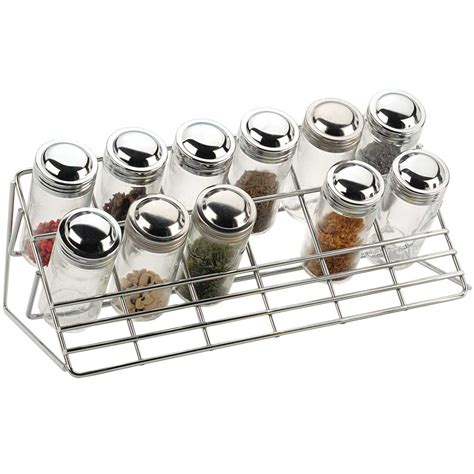 Spice Rack Countertop by Chrome Countertop Spice Rack In Spice Racks