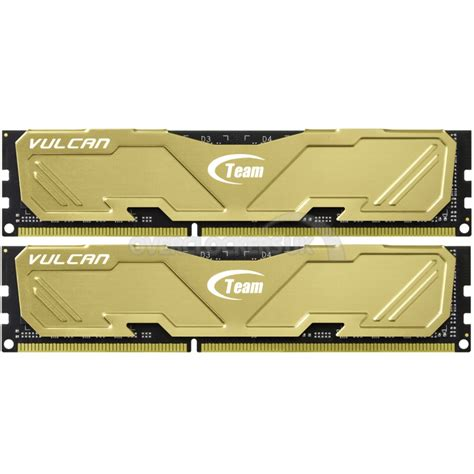Memory Ram Team Vulcan Series Ddr4 16gb 2x8gb Murah 3 team vulcan gold 16gb 2x8gb ddr3 pc3 ocuk