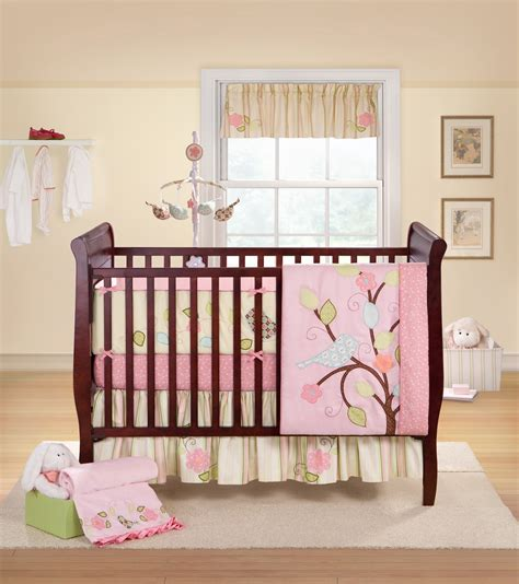 Baby Bed Setting Crib Bedding Sets 2018 Mini Baby Nusery Crib Bedding Sets For