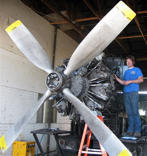 swift enterprises unleaded aviation gasoline successfully tested  radial engine