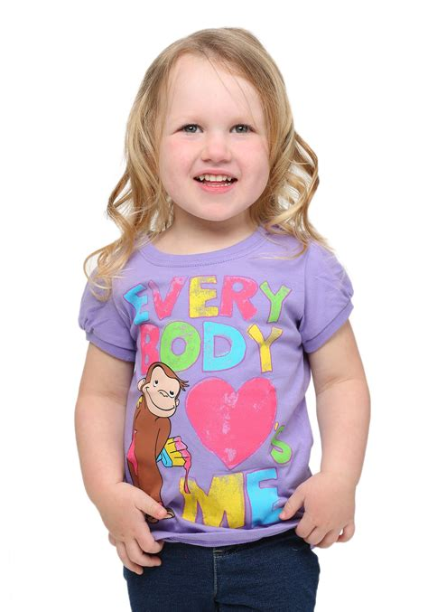 toddler curious george everybody s me t shirt