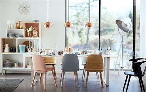 retro 60 s scandinavian style minimalistisch esszimmer