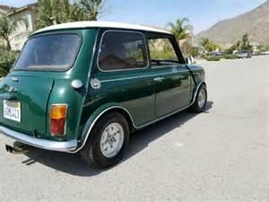 1973 Mini Cooper 1973 Mini Cooper S For Sale Photos Technical