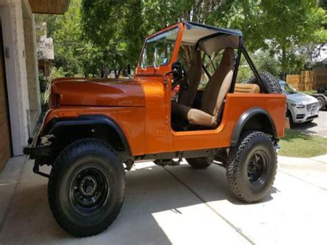 orange jeep cj find used jeep cj cj7 in dallas texas united states