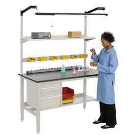 lab bench work laboratory work bench adjustable height heavy duty