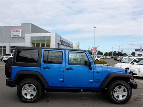 jeep wrangler colors 2015 2015 jeep wrangler unlimited sport blue colors http