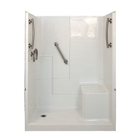 Shower Stall Products Ella Freedom 32 In X 60 In X 77 In 3 Low