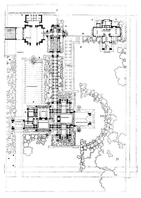 Darwin Martin House by File D D Martin House Site Plan Habs Ny 15 Buf 5 Gif