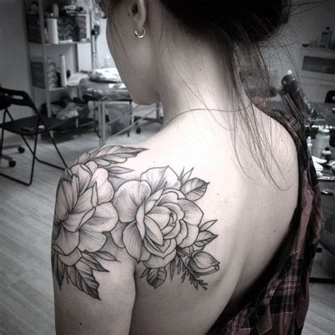rose tattoo on shoulder tumblr 40 best shoulder tattoos for tattoos era