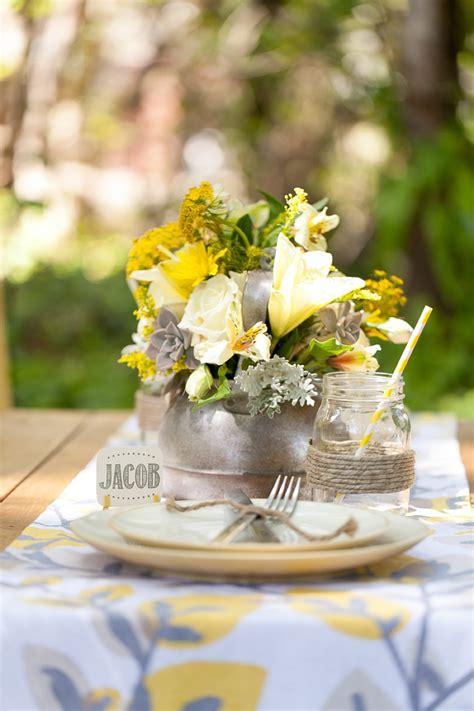 yellow wedding ideas rustic every last detail