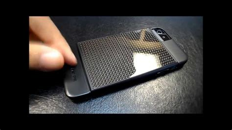 marware real carbon fiber case  iphone    review youtube