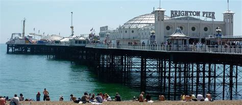 the palace pier and theatre brighton later brighton pier bright palace pier new steine hotel near brighton pier