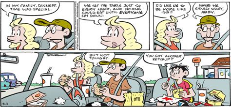 A series of excuses, plus a birthday   Comic Strip of the Day.com