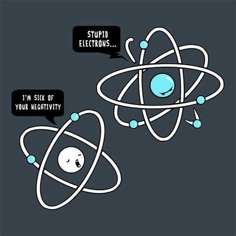 proton meaning science stupid electrons chemistry jokes chemistry