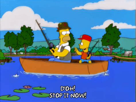 sinking fishing boat gif homer simpson boat gif find share on giphy