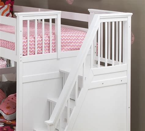 white loft bed with stairs school house stair loft bed white bed frames ne kids