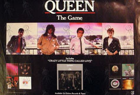 game design queens queen the game design album promo poster posters