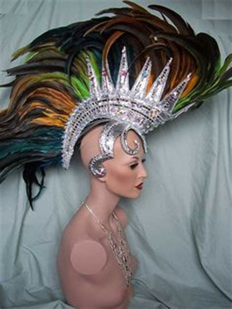 Hiasan Rambut Headpiece 4 samba pageant headdress crown tiara vegan carnival samba costume ideas