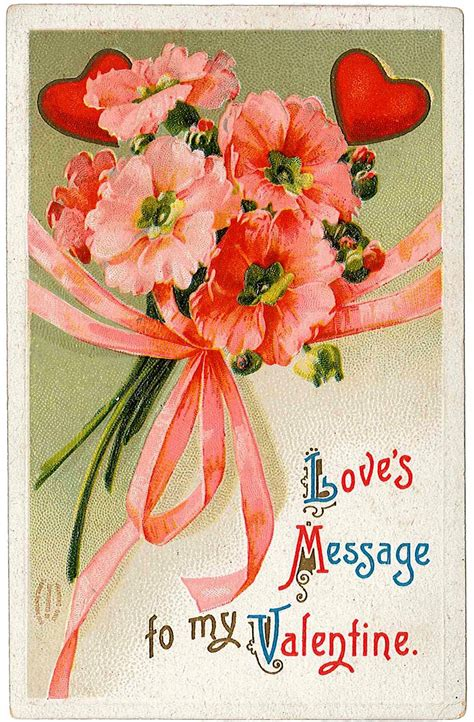 valentines day postcards cards vintage everyday