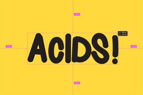 acids font dafontcom