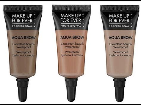 Makeup Forever Eyebrow Gel how to makeup forever aqua brows