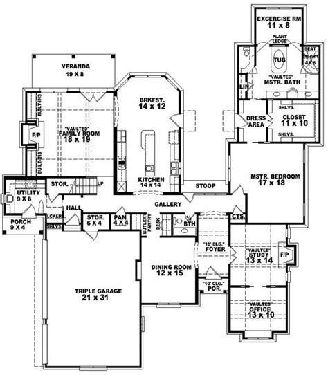 Large House Plans by House Plans With Porches Vintage Lowcountry Plan 17