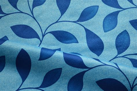blue pattern curtain fabric ravello blue leaf pattern curtain fabric floral