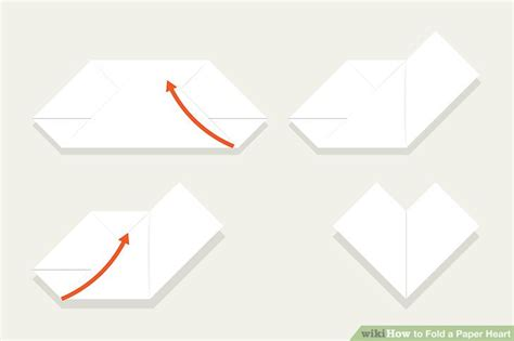 How To Fold Paper Hearts Step By Step - 3 easy ways to fold a paper with pictures wikihow