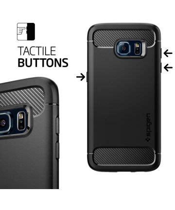 Spigen Rugged Capsule Samsung Galaxy S7 Rugged Armor S7 Flat spigen rugged armor samsung galaxy s7 edge hoesje zwart gsmpunt nl
