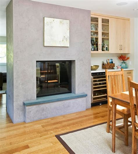 Fireplace Between Dining Room And Living Room Modern Furniture