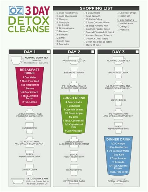 Dr Oz 14 Day Detox Plan 59 best images about doctor oz recipes on dr