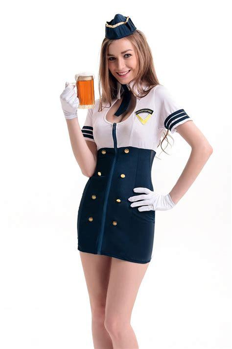 Cho Co Stewardess Pramugari Haloween buy wholesale flight attendant from china flight attendant wholesalers aliexpress
