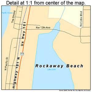 map of rockaway oregon rockaway oregon map 4162900