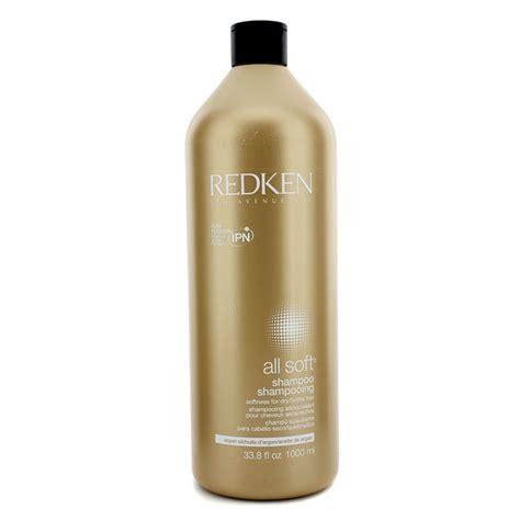 soft hair care redken all soft shoo for dry brittle hair hair care